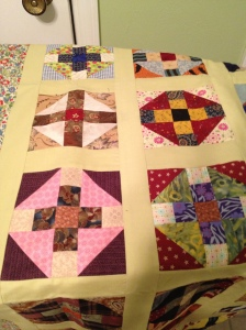 You can find the pattern at Bonnie Hunter's quiltville blog